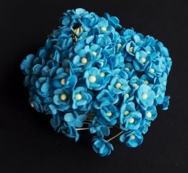 Mini Sweetheart blossoms Turquoise