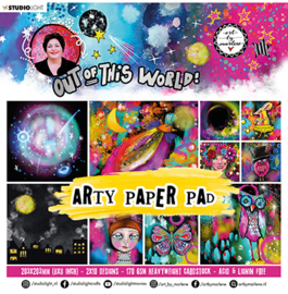ABM-OOTW-PP16 ABM Paper pad Out Of This World nr.16