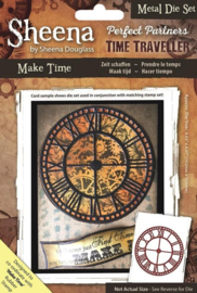 Perfect Partner Time Traveler cutting template - Make time