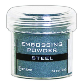 Ranger Embossing Powder 34ml - Metallic Steel EPJ66873