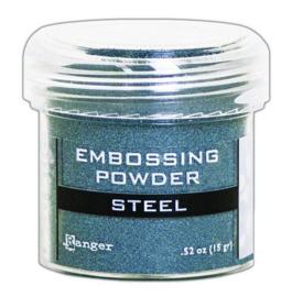 Ranger Embossing Powder 34ml - Metallic Steel EPJ66873