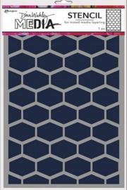 Ranger Dina Wakley Media Stencils Lattice MDS77688 Dina Wakley