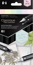 "Spectrum Noir Classique ""Hint Of"" (6 stuks) - Exquisite Pastels"