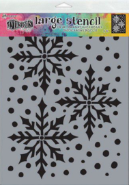 Ranger Dylusions Stencils Ice Queen Lg DYS78029 Dyan Reaveley