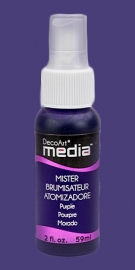 DecoArt mixed media spray mister Purple