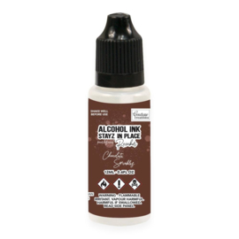 Couture Creations Stayz in Place Alcohol Ink Pearlescent Chocolate Sprinkles (12ml) Reinker (CO728209)