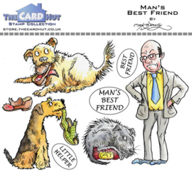 The Card Hut Man's Best Friend Clear Stamps (MBPMBF)