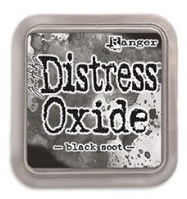 Ranger Distress Oxide Ink Pad - Black Soot TDO55815