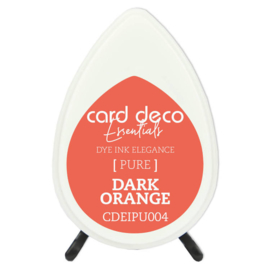 Card Deco Essentials Fade-Resistant Dye Ink Dark Orange  CDEIPU004