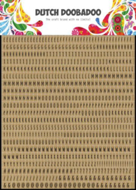 Dutch Doobadoo Dutch Sticker Art A5 Alphabet 491.200.019
