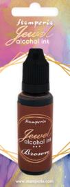 Stamperia Jewel Alcohol Ink 18 ml Brown (KAD012)