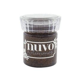 Nuvo glimmer paste - rich cocoa 1540N