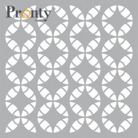 Pronty Mask stencil Retro Pattern 470.801.056 15x15cm