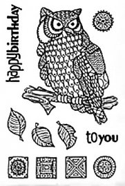 WISE OWL - CLEAR MAGIC » JGCL524
