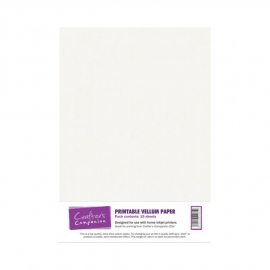 Crafter's Companion Printbare Vellum Papier - 15 Vel VELL001 A4