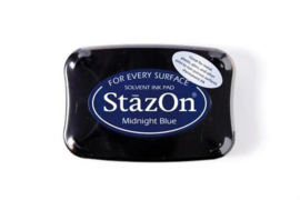 Stazon inktkussen Midnightblue SZ-000-062