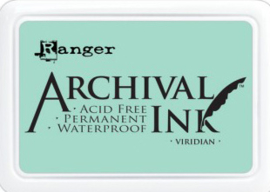 Ranger - Archival Ink Pads - Viridian AIP30669
