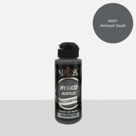 Cadence Hybride acrylverf (semi mat) Anthrachite black 01 001 0091 0120 120 ml  301200/0091