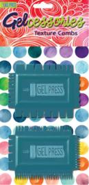 Gel Press • Gelcessories Texture combs GEL18105