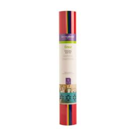 Cricut Everyday Iron-On Rainbow Sampler 12x12 Inch (2004815)