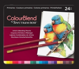 Spectrum Noir ColourBlend Pencils - Primaries 24pcs