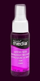 DecoArt mixed media spray mister Violet