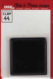 Crealies Clearstamp Bits&Pieces stempel no. 44CLBP44