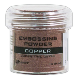 Ranger Embossing Powder 34ml - super fine copper EPJ36661