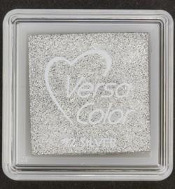 VersaColor Small Inkpad-Silver VS-000-092