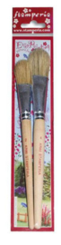 Stamperia Standarino Brushes (2pcs) (KR86)