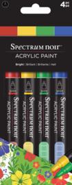 Spectrum Noir Acrylic Paint Marker sets (4st)-Bright