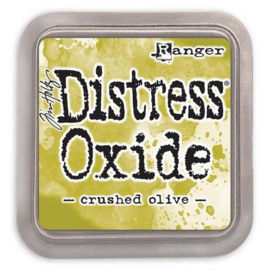 Ranger Distress Oxide Ink Pad - Crushed Olive TDO55907