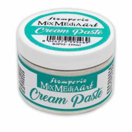 Stamperia Cream Paste 150ml White (K3P53)