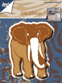 Cutting, embossing & debossing - Olifant