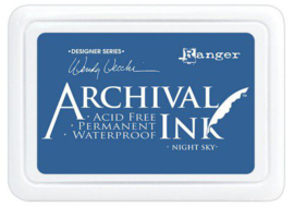 Ranger Archival Ink pad - Night Sky AID74007 Wendy Vecchi