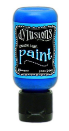 Ranger Dylusions Paint Flip Cap Bottle 29ml - London Blue DYQ70542