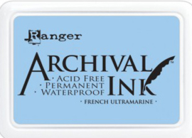 Ranger - Archival Ink Pads - French Ultramarine AIP30607