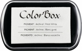 Clearsnap ColorBox Pigment Ink Full Size Frost White (15080)