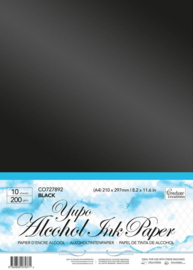 Couture Creations Yupo Paper A4 Black (CO727892)