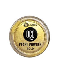 QuickCure Clay Pearl Powders Gold, 0.25oz - QCP71679