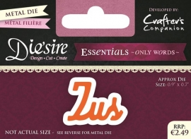 Die'sire Essentials Only Words NL- Zus DS-E-W-01-NL