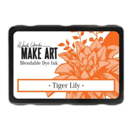 Ranger MAKE ART Dye Ink Pad Tiger Lily WVD64404 Wendy Vecchi