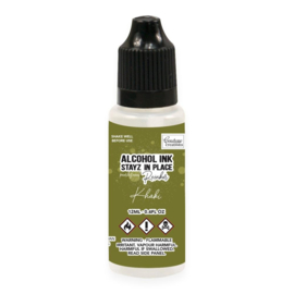 Couture Creations Stayz in Place Alcohol Ink Pearlescent Khaki (12ml) Reinker (CO728211)