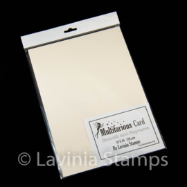 Lavinia Multifarious Card – Cream A4