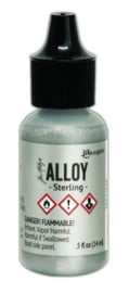 Ranger Alcohol Ink Alloys Sterling TAA71846 Tim Holtz