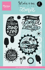 Marianne D Stempel Zomer (NL) KJ1713