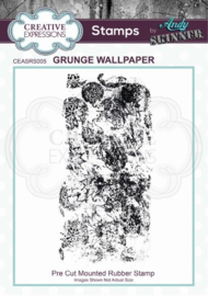 CE Rubber Stamp by Andy Skinner Grunge Wallpaper  CEASRS005
