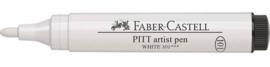 Faber Castell Tekenstift Pitt Artist Pen Big Brush 101 Wit (FC-167601)