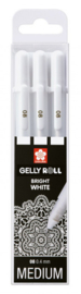 Sakura • Gelly rolls real white set van 3 POXPGBWH3