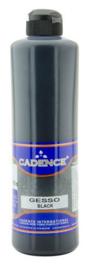 Cadence gesso acrylverf zwart 01 064 0002 0500 500ml